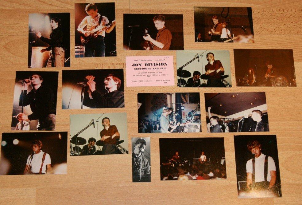 88: JOY DIVISION/NEW ORDER PHOTOGRAPHS