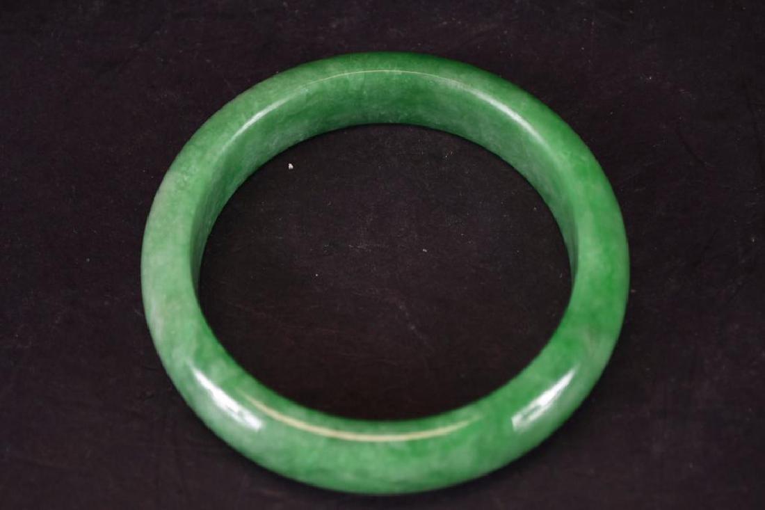 Chinese Jadeite Bangle - 6