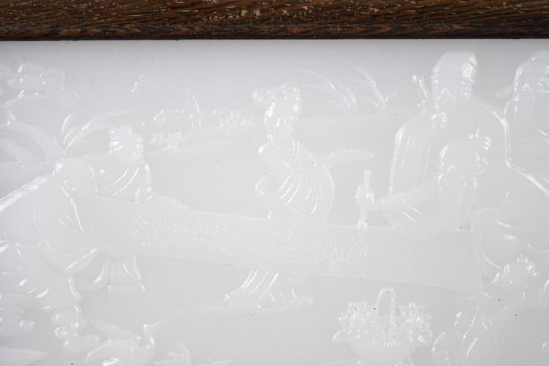 Chinese Carved Table Screen - 6