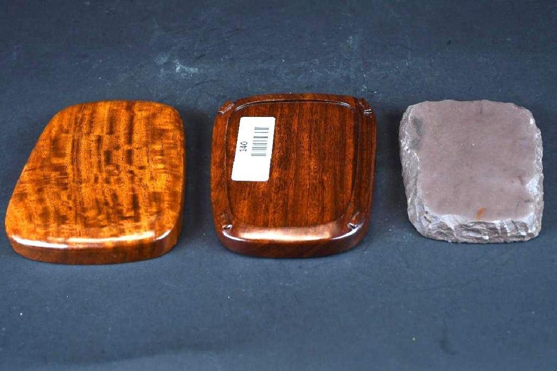 Chinese Huanghuali Box & Ink Stone - 4