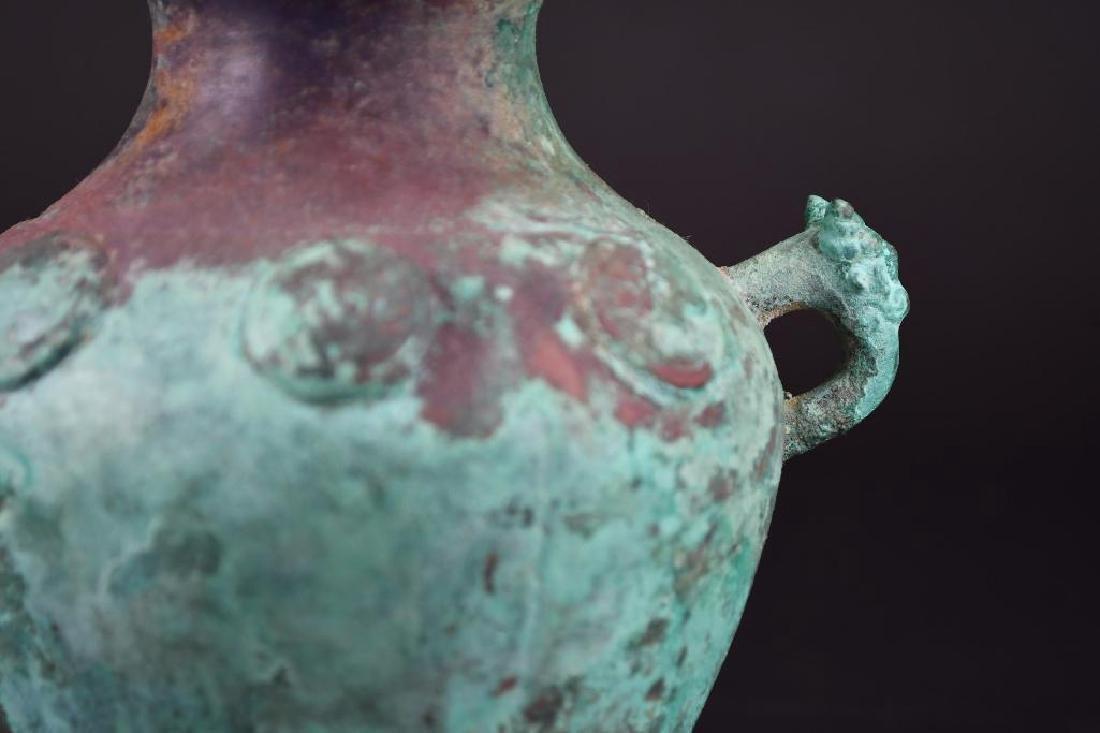 Chinese Bronze vessel - 8