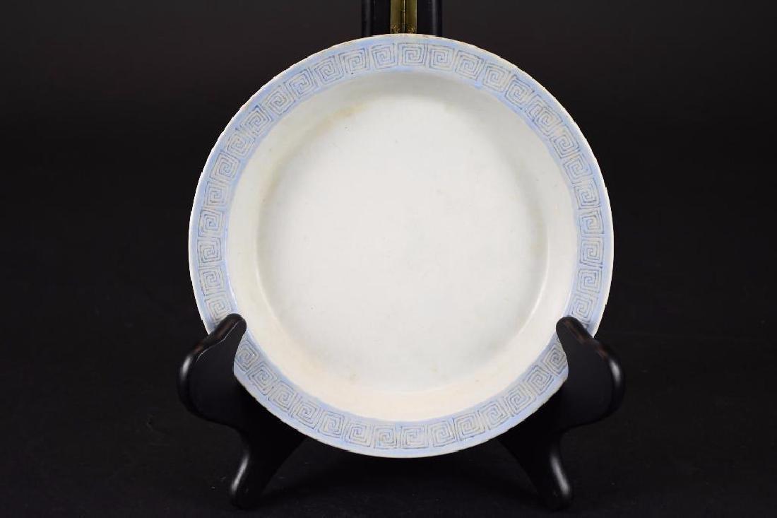 Antique Chinese Cobalt Blue Glaze Porcelain Bowl - 4