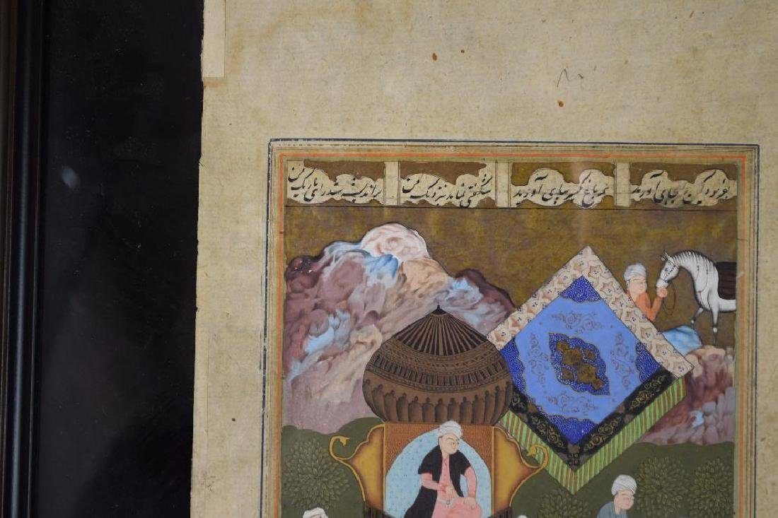 Framed Miniature Painting - 2