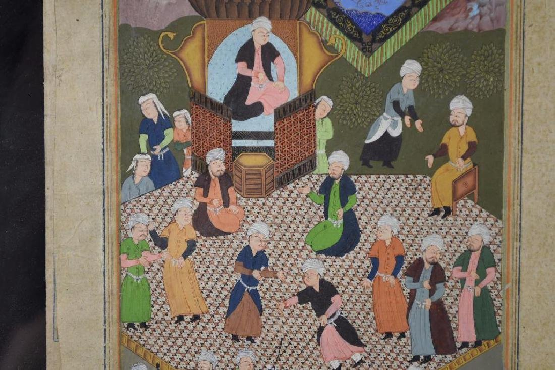 Framed Miniature Painting - 4