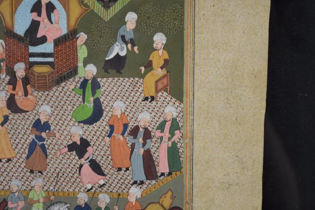 Framed Miniature Painting - 5