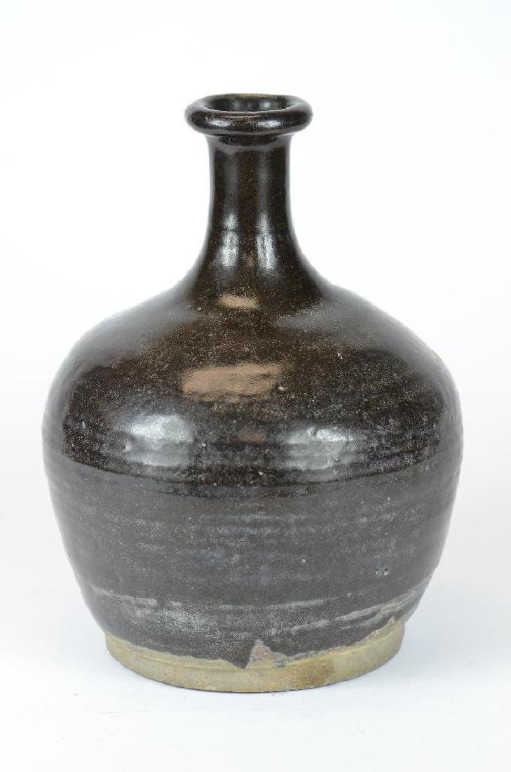 Chinese Black Glaze Vase