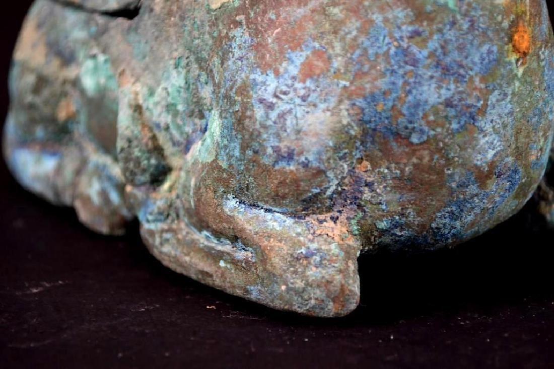 Chinese Animal Shape Bronze Vessel - 6