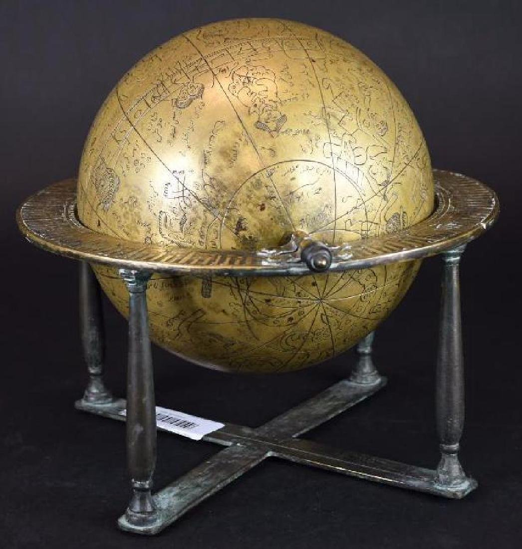 Astrolobe Globe on Stand with Inscription - 3