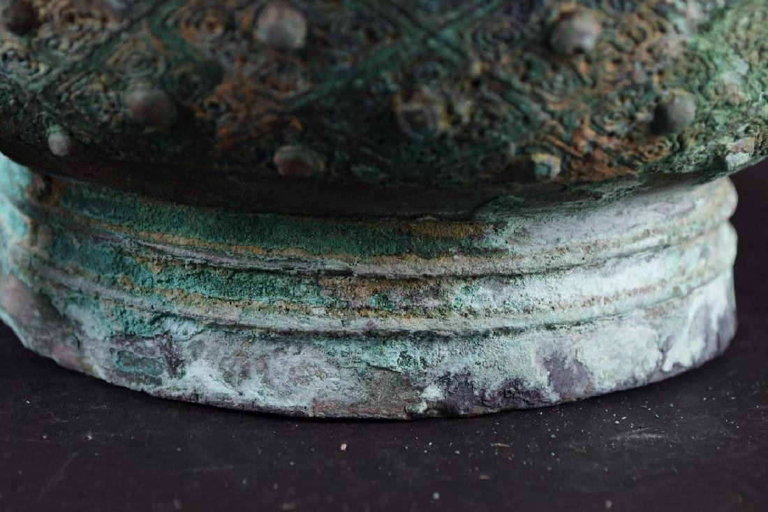 Chinese Bronze Footed Censer - 9