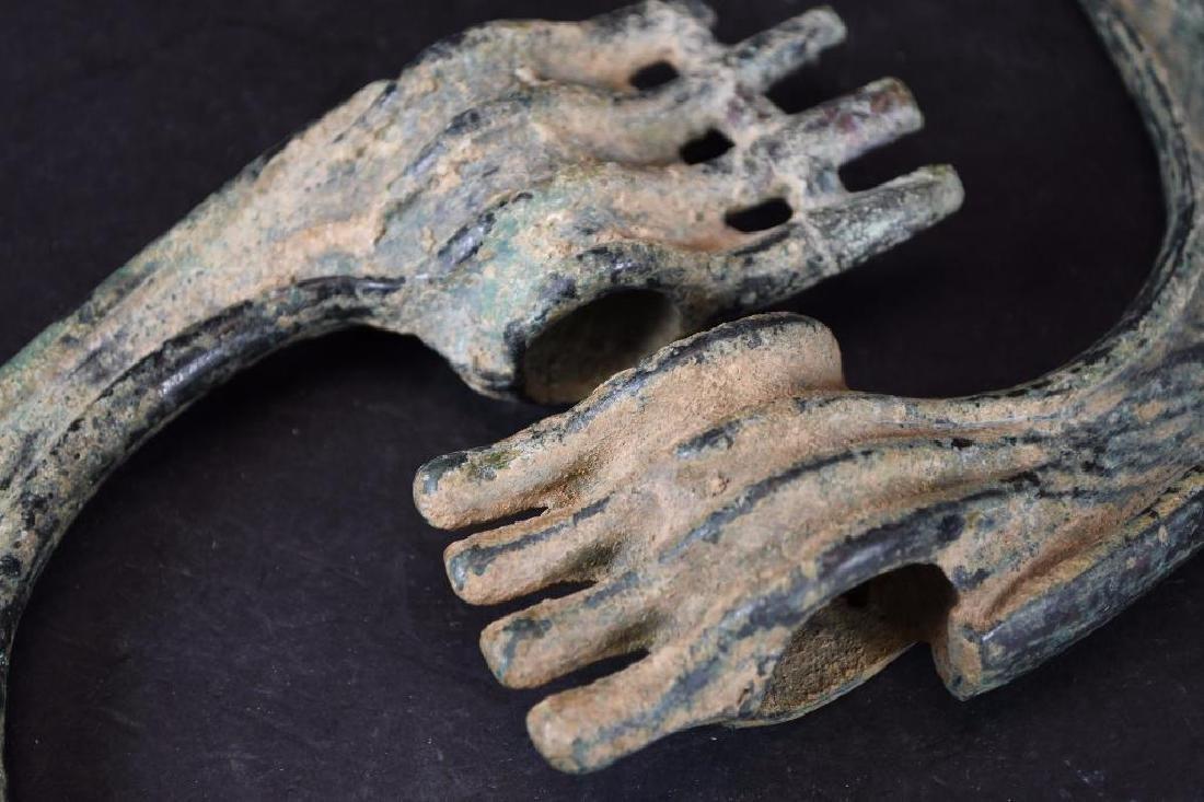 Ancient Luristan Bronze Ax Heads - 4