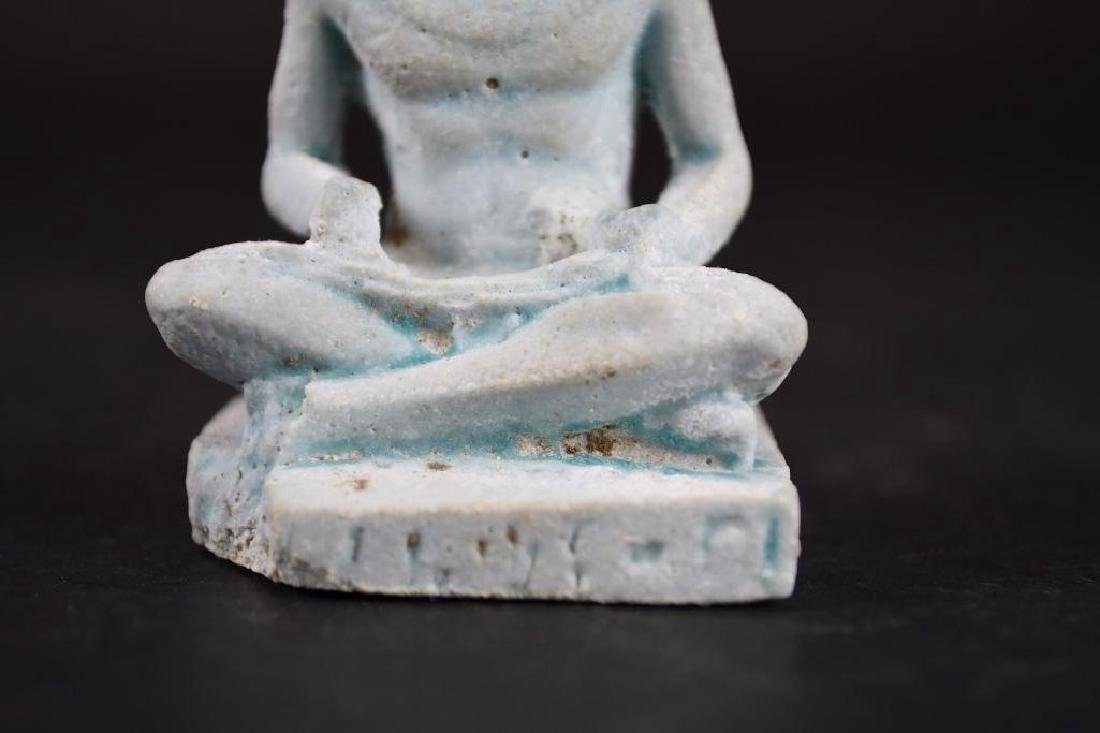 Ancient Egyptian Faience Statue - 7