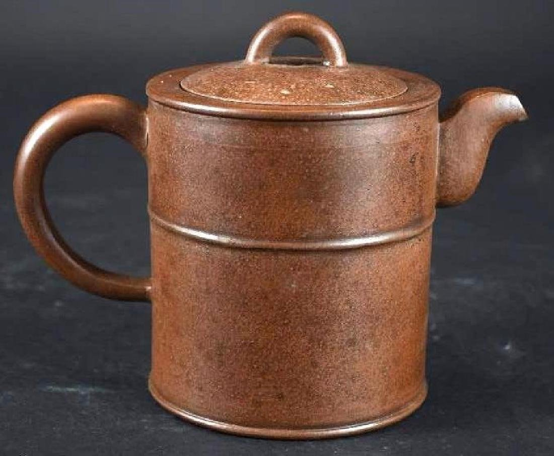 Chinese Xi Xing Pottery Tea Pot - 3