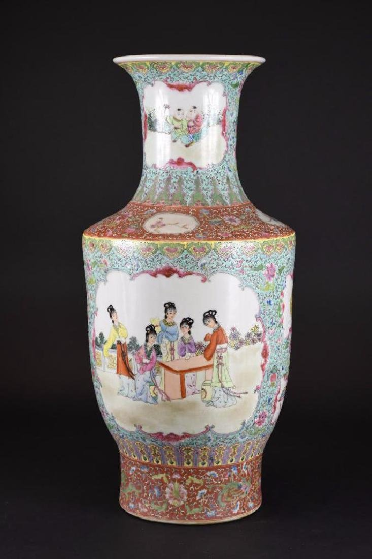 Chinese Ducai Porcelain Vase