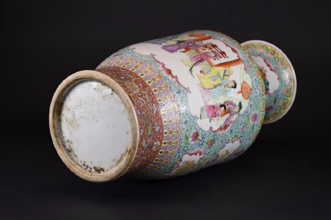 Chinese Ducai Porcelain Vase - 6