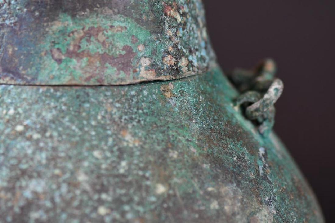 Chinese Bronze Tripod Vessel - 10