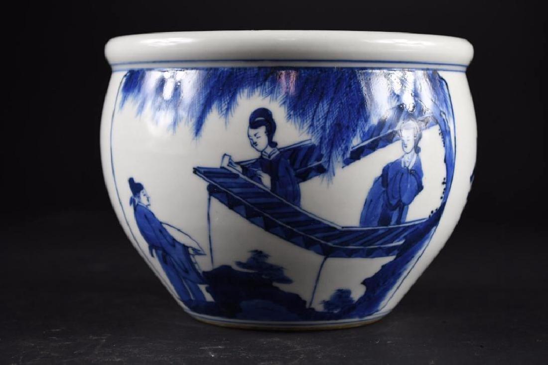 Chinese Blue & White Bowl - 3