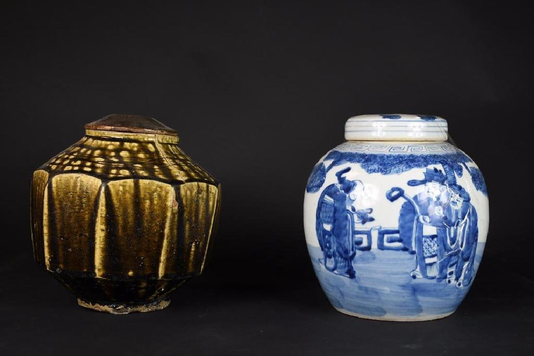 Two Chinese Jars