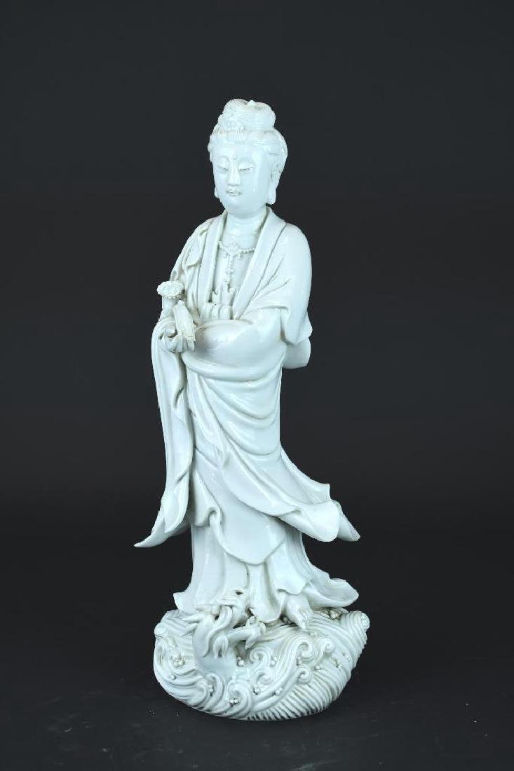 Chinese Blanc De Chine Guan Yin
