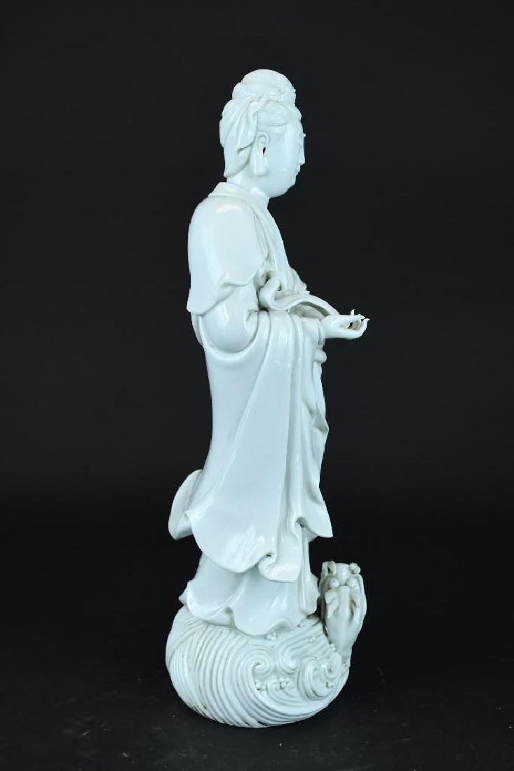 Chinese Blanc De Chine Guan Yin - 2