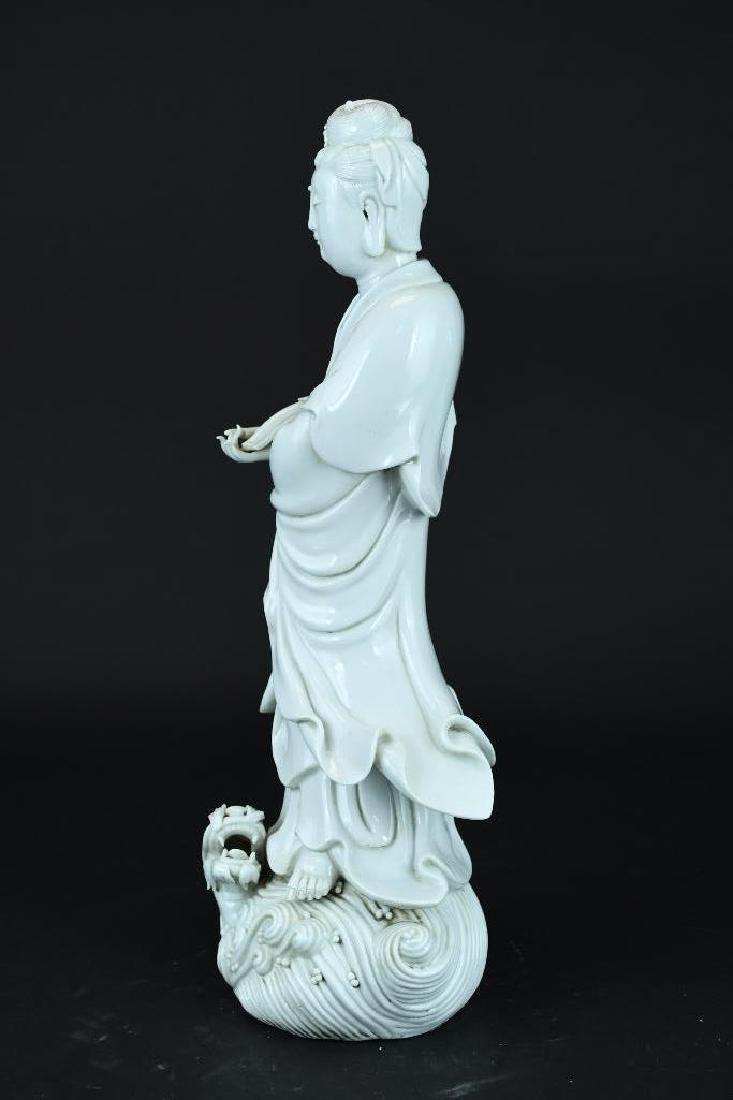 Chinese Blanc De Chine Guan Yin - 4
