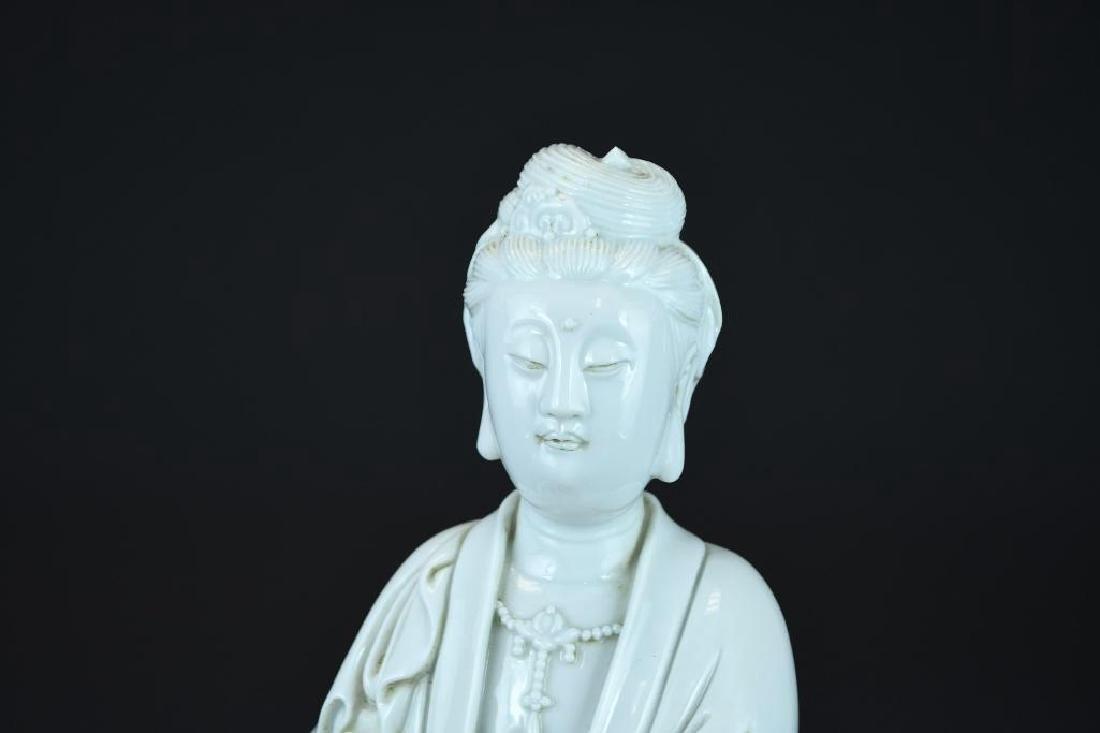 Chinese Blanc De Chine Guan Yin - 5