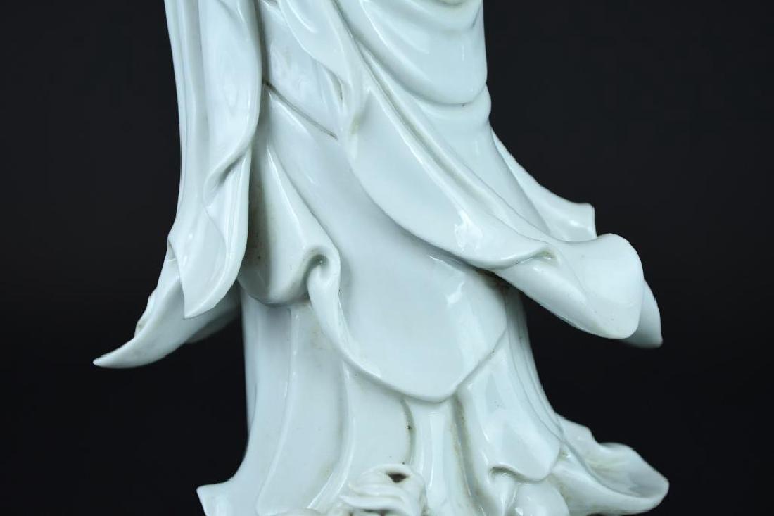 Chinese Blanc De Chine Guan Yin - 7