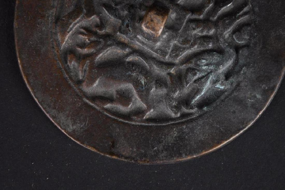 Two Chinese Bronze Mirrors - 4