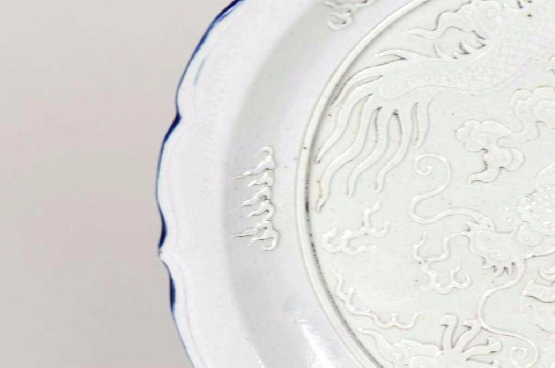 Chinese Porcelain Dragon Charger - 3
