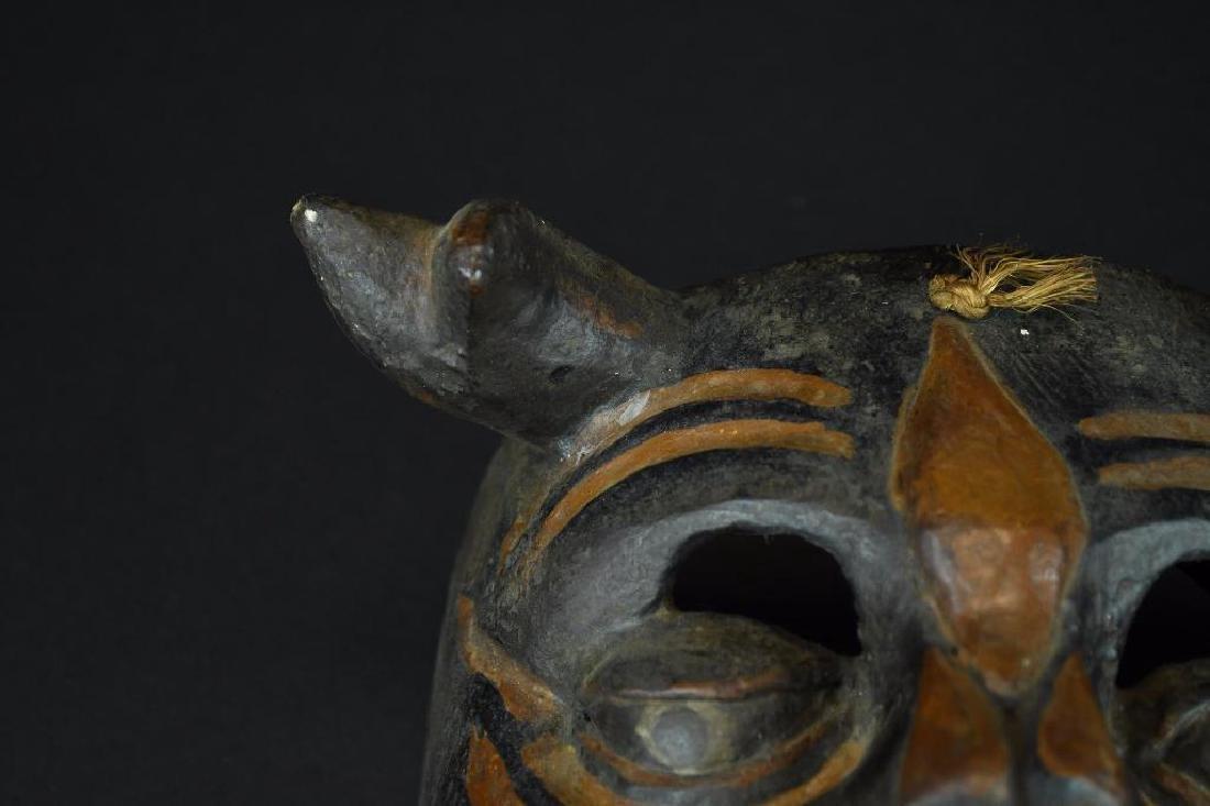 Carved Wood Mask - 2