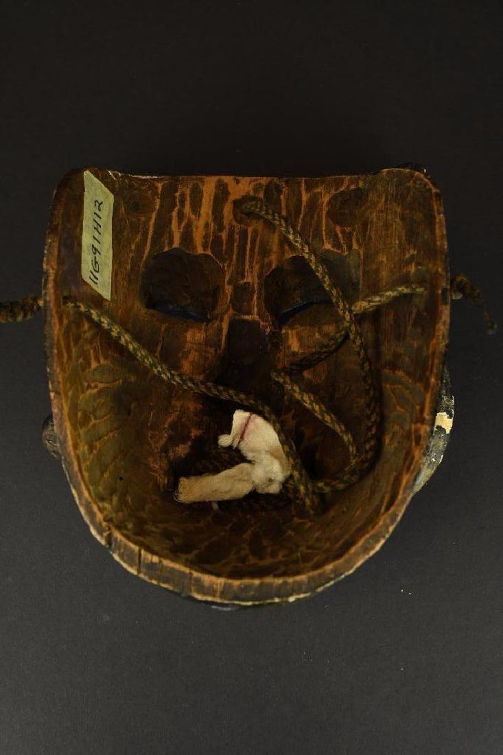 Carved Wood Mask - 5