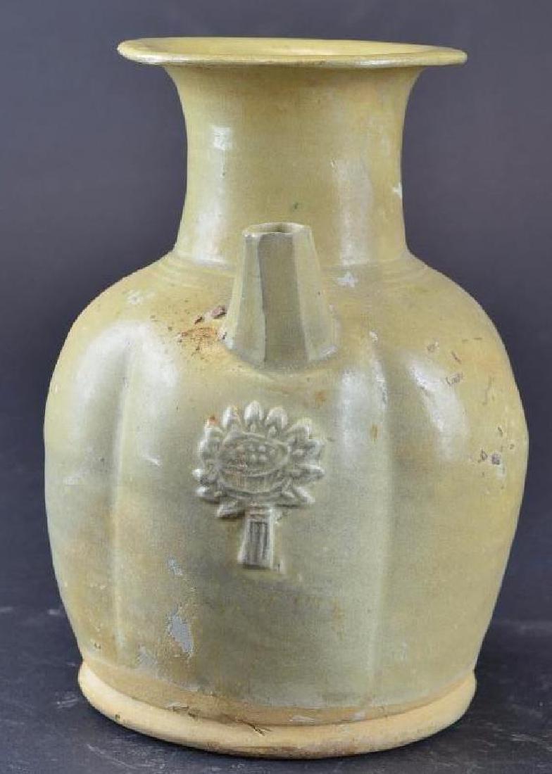 Chinese Celadon Glaze Porcelain Ewer