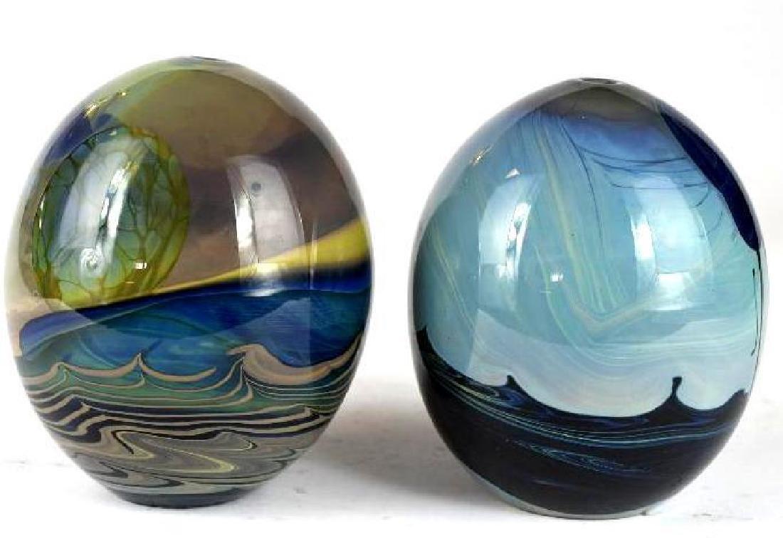 Two Art Glass Vases - 2