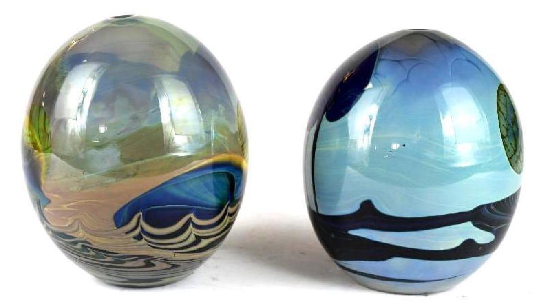 Two Art Glass Vases - 4