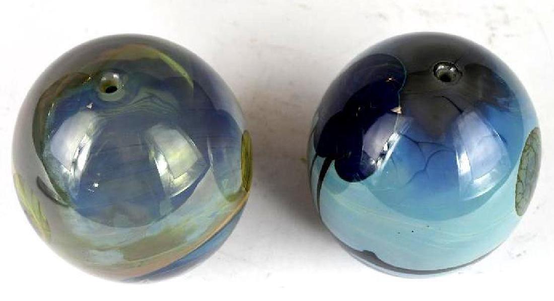 Two Art Glass Vases - 5