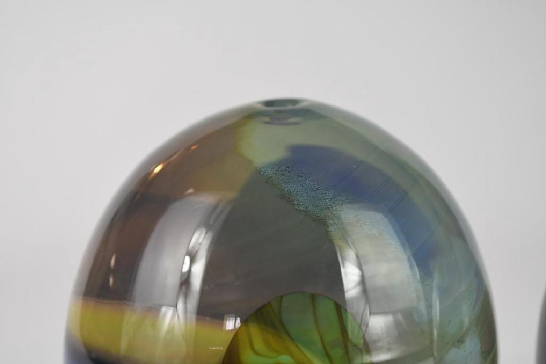 Two Art Glass Vases - 7