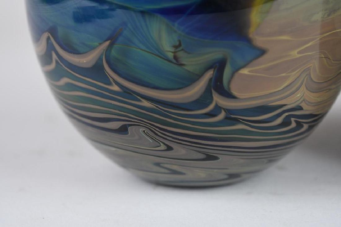 Two Art Glass Vases - 9