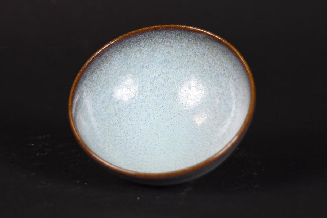 Chinese Footed Porcelain Bowl - 5