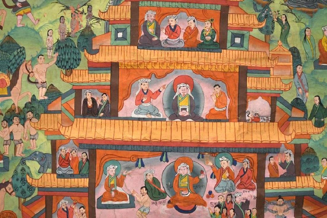 Tibetan Thangka - 4