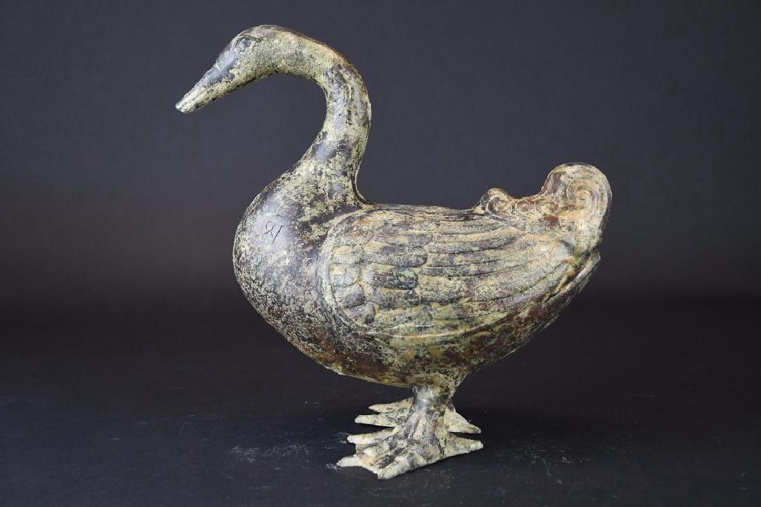Chinese Bronze Duck - 4