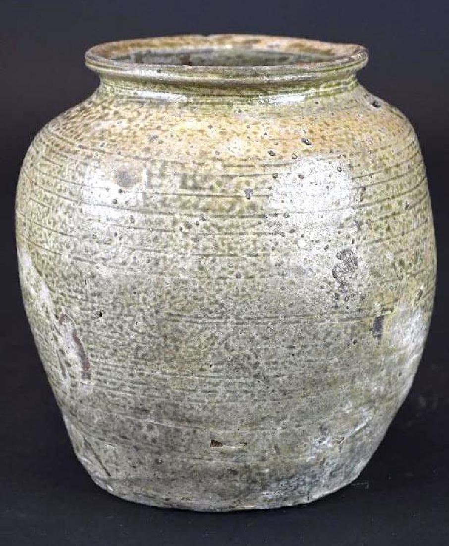 Korean Pottery Vase - 4