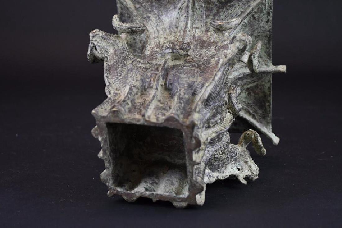 Chinese Bronze Vase - 6