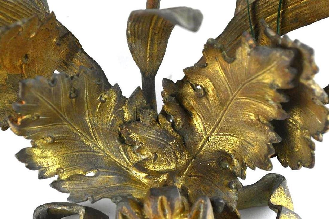 French Gilt Bronze Wall Sconce - 10