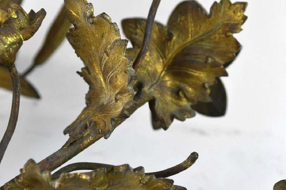 French Gilt Bronze Wall Sconce - 9