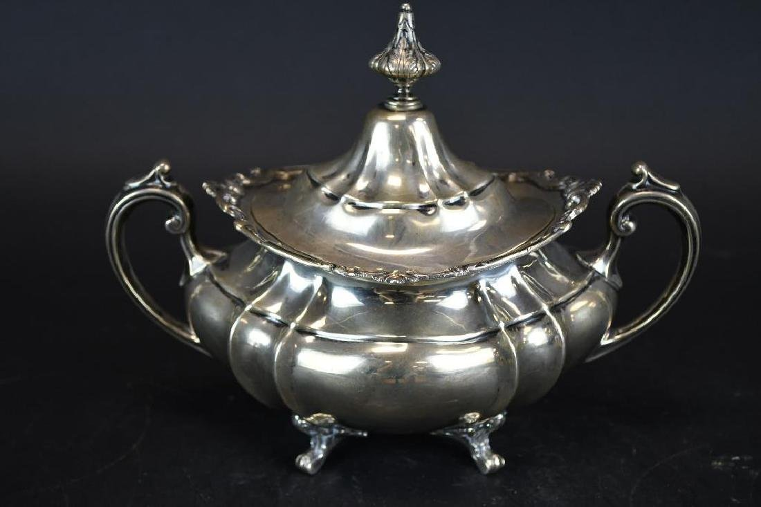 Sterling Silver Tea Set - 8