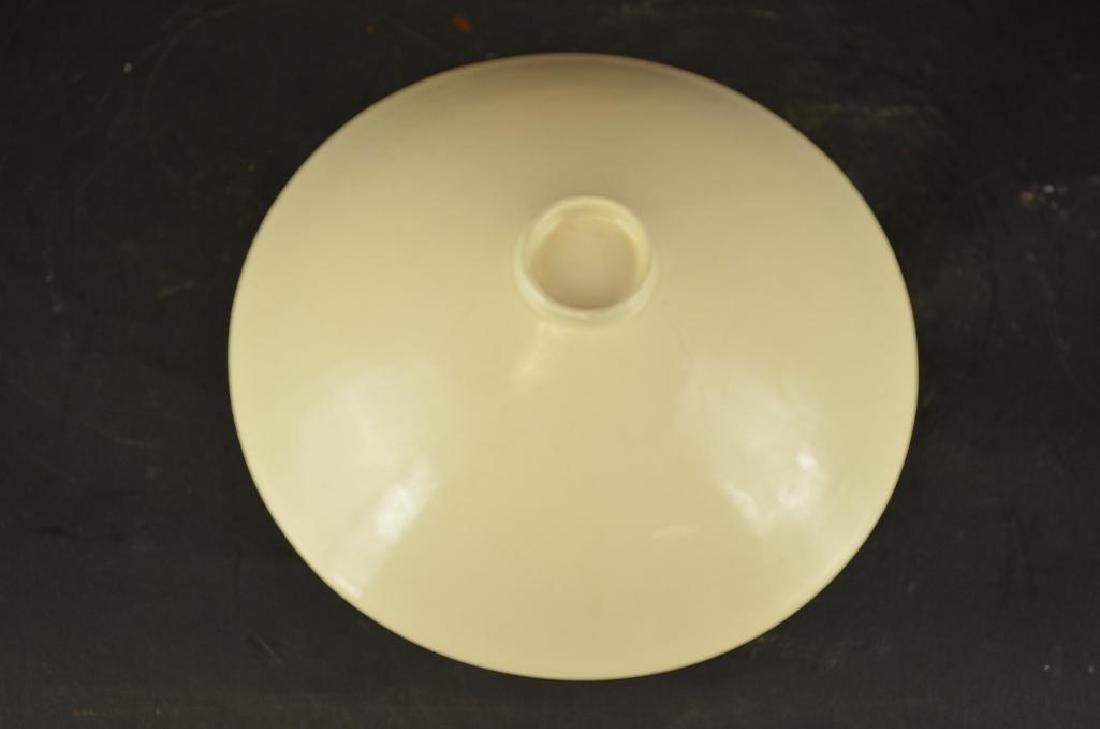Chinese Straw Glaze Porcelain Fotoed Bowl - 3