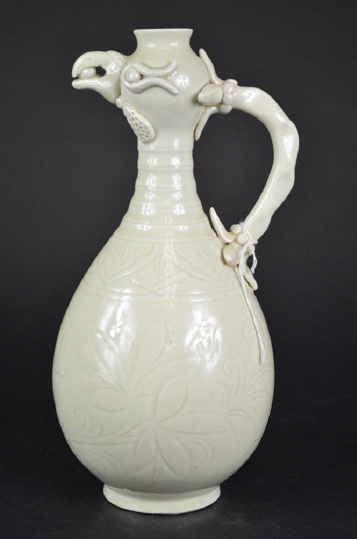 Chinese White Glaze Vase