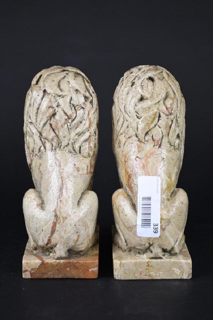 Pair of Chinese Foo Lions - 3