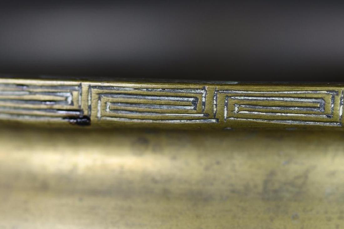 Chinese Bronze tripod Censer - 6