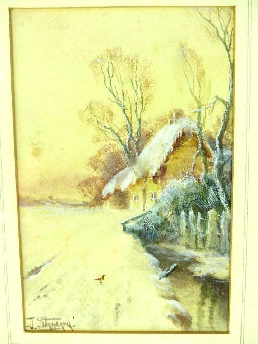 Framed Landscape Painting - 2