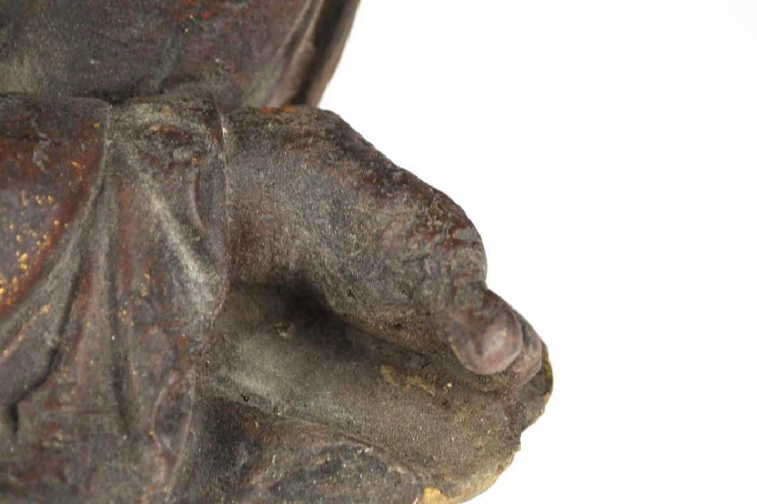 Chinese Bronze Guan Yin - 7